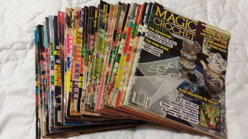 Magic Crochet Magazine Issues 36 to 73