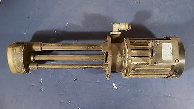 Bostak Cnc Coolant Pump Ez285 .57 Kw 220 380 V 1.9 1.1 Amp 60 Hz 3320 Rpm