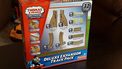 Thomas & Friends Trackmaster Motorized Railway Deluxe Expansion Track Pack T0787