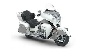 2018 Indian Motorcycles Roadmaster Pearl White/ Star Silver