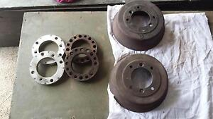 Mini wheel spacers and brake drums. Morris Leyland Two Wells Mallala Area Preview