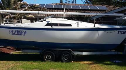 1986 Cole 23 Trailer Sailer