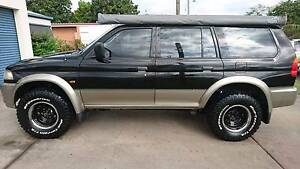 Backpackers! 1999 Mitsubishi Challenger Wagon with RWC & Rego Westcourt Cairns City Preview