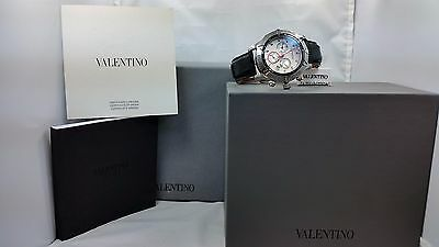 Valentino V40Q Chronograph Stainless Steel Men's Watch for sale  Forest Hills