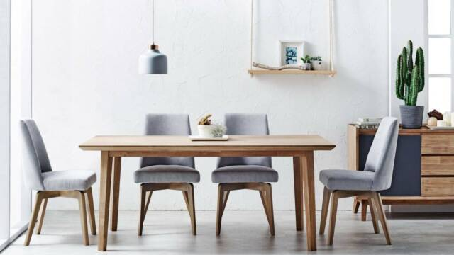 Harvey Norman Tempo 7 Piece Dining Set Dining Table 6 ...