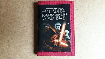 Star Wars The Force Awakens Wallet Purse Disney Kylo Ren Phasma