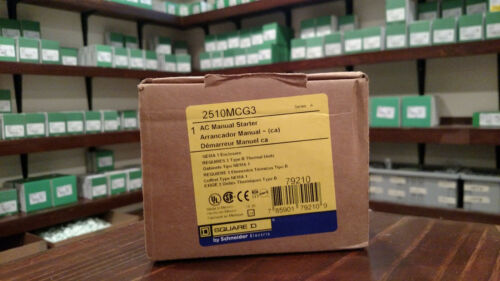 2510MCG3  Manual Starter 2510 MCG3  -------------> BRAND NEW