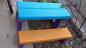 Kids outdoor plastic table Durack Palmerston Area Preview