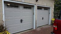 RESIDENTIAL GARAGE DOOR INSTALLATION AND SERVICE