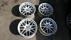 Authentic set of E46 M3 ZCP rims