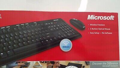 Cheap! Brand NEW. Microsoft Wireless Optical Desktop 700 Keyboard & Mouse Combo  Optical Desktop 700 Keyboard Mouse
