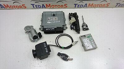 MERCEDES W219 CLS320 05-10 3.0CDI ENGINE ECU IGNITION KEY LOCK SET A6421503972