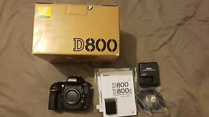 Nikon D800 inc all accessories and spare battery Padstow Bankstown Area Preview