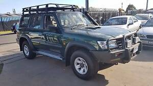 2002 Nissan Patrol ST Wagon TURBO DIESEL 4x4 AUTO Williamstown North Hobsons Bay Area Preview