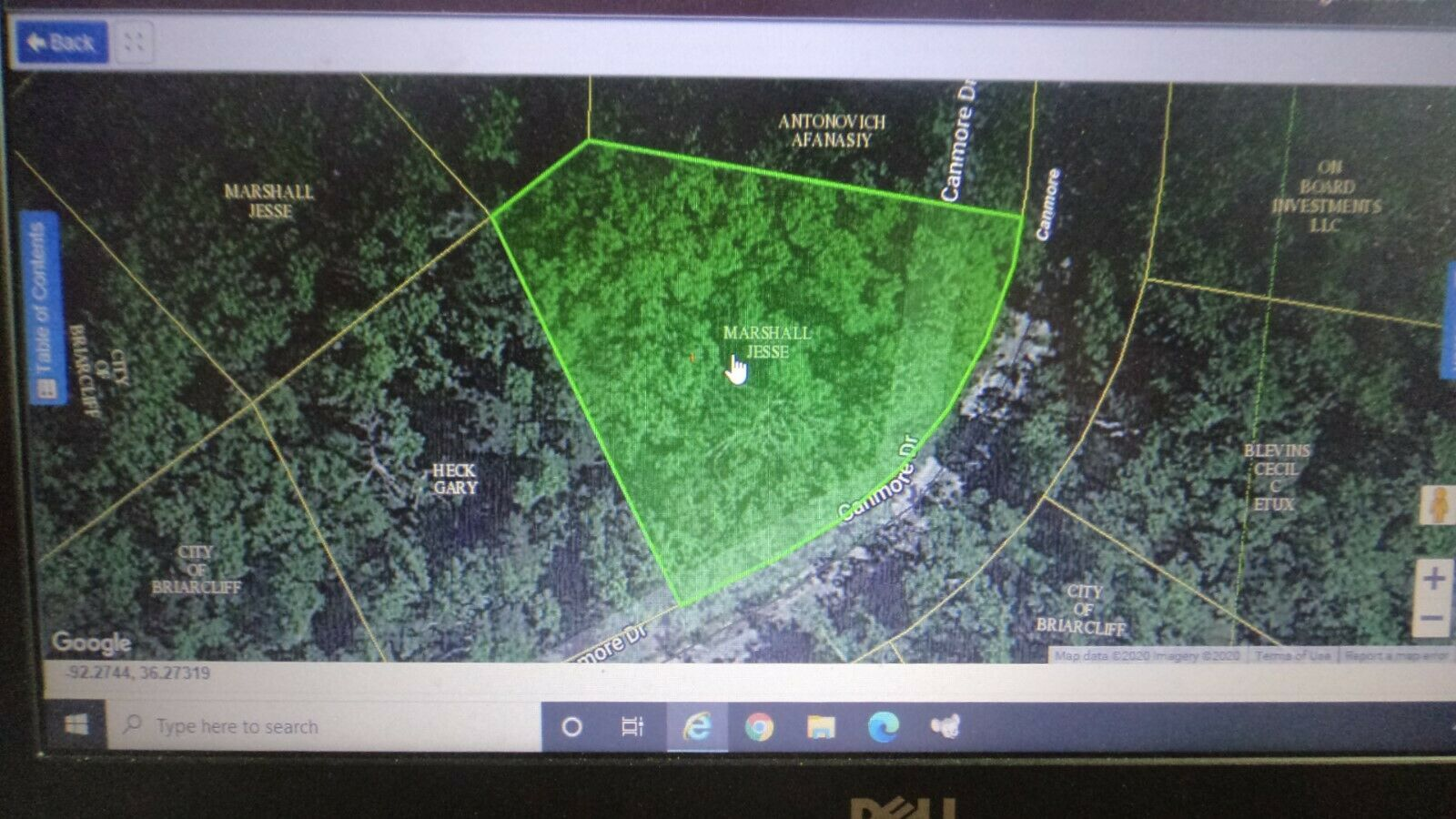 12989 Sq Feet .2982 Acre Briarcliff, AR- HALF Mile To Norfork Lake POWER CLOSE - $76.00