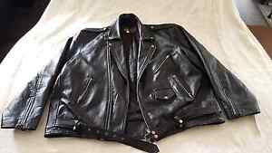 Huge leather bike jacket Hobart CBD Hobart City Preview