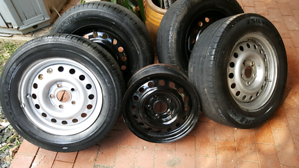 Wheels and tyres Balcolyn Lake Macquarie Area Preview
