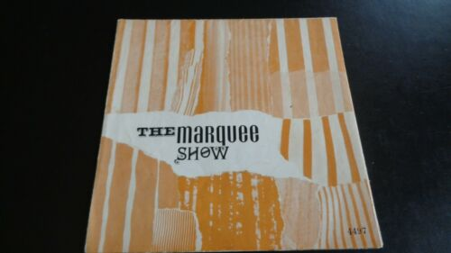 THE YARDBIRDS ,MANFRED MANN  ORIGINAL MARQUEE SHOW 1965 UK TOUR PROGRAMME