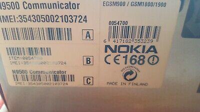 Nokia 9500 Communicator,Organizer Büro mit box end acsessories 325 Nokia Communicator