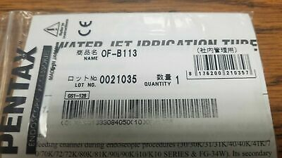 Pentax Of-b113 Water Jet Irrigation Tube For 3040 Series New In Package