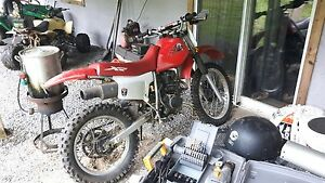 Honda XR 200 with 250 engine