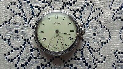 Waltham 18s 7 Jewel Pocket Watch