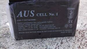 BRAND NEW 12 volts sealed 7Ah rechargeable battery Gosnells Gosnells Area Preview