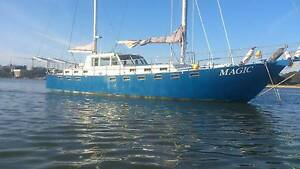 52ft Steel Ketch live aboard and private mooring Gordon Ku-ring-gai Area Preview