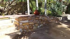 "Quartzite stone cladding "" cottage blend "" Rapid Creek Darwin City Preview"