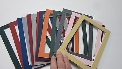 Picture Frame Mats set of 15 mats Assorted colors 5x7 for 4x6 photos](Photo Mat)