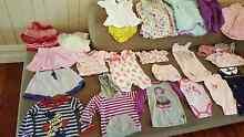 Baby girl bulk brand name clothing Wynnum Brisbane South East Preview
