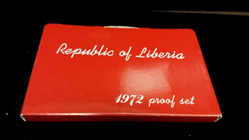 1972 Republic of Liberia Proof set