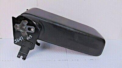 CADILLAC ALLANTE BLACK LEATHER CENTER CONSOLE ARM REST ARMREST NICE OEM