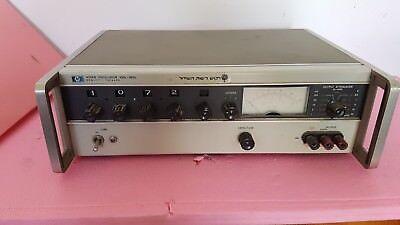 Hewlett Packard Hp 4204a Oscillator 10hz-1mhz Signal Generator