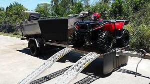 Quintrex Renegade 420 Offroad Trailer Combo With Polaris 570 Quad Cairns Cairns City Preview