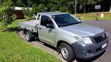 Toyota  Hilux workmate 2013  low k,s Trinity Beach Cairns City Preview