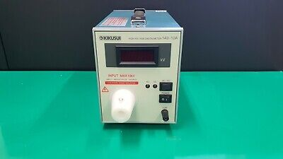 Kikusui 149-10a High Voltage Digital Meter