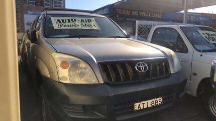 2003 Toyota LandCruiser GX ! Fully Serviced & Inspected ! Granville Parramatta Area Preview