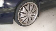 "20"" AMG 5x 122 Rims Tyres 3 good 1 not wheels mags tires 18 17 19 Brisbane City Brisbane North West Preview"