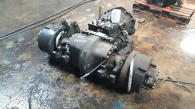 Yale Gdp060vx Forklift Differential And Transmission