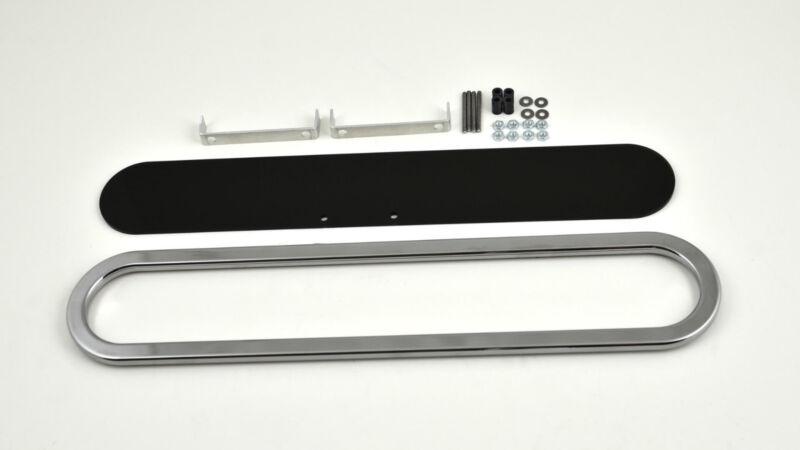 6 Gauge Billet Chrome Panel Kit, Intellitronix 6 gauge bezel kit
