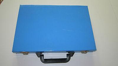 Profesional Caja de Metal Con Asa Transporte Vacío Para Aprox. 170 Broca