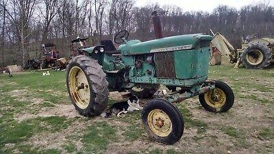 John Deere 3010 Gas Tractor. Wide Front