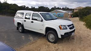 2011 holden Colorado lx dual cab Dodges Ferry Sorell Area Preview