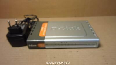 D-Link DES-1008D 8 Port Fast Ethernet 10/100 Mbps Unmanaged Desktop Switch + PSU