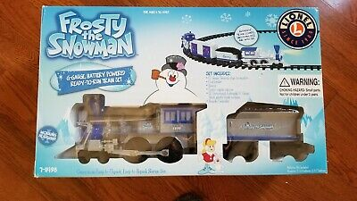 Lionel Christmas Train set 7-11498 Frosty the Snowman G-Gauge
