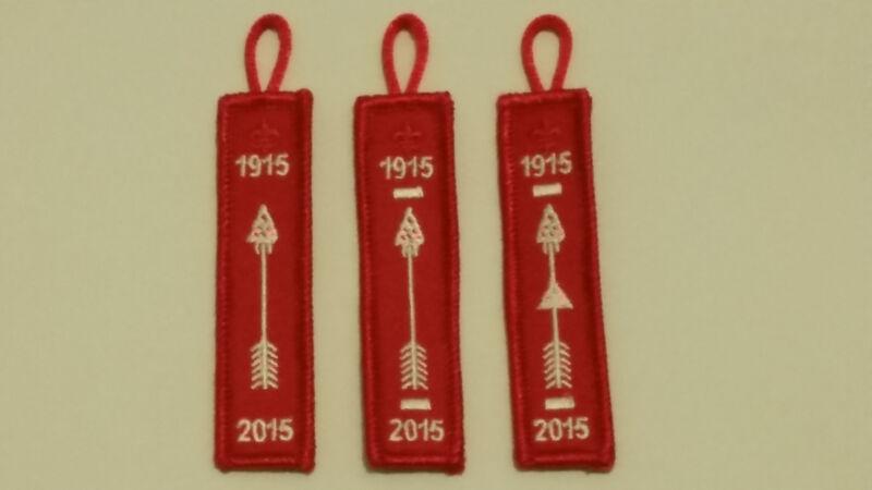 Order of the Arrow OA Pocket Dangle Set NOAC 100th Anniversary