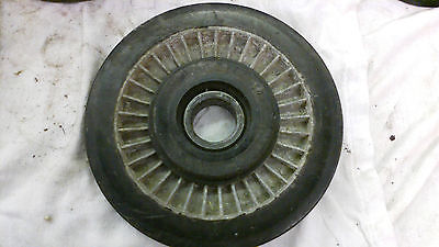 VINTAGE KAWASAKI ALUMINUM SNOWMOBILE SUSPENTION IDLER WHEEL 5.75 X I