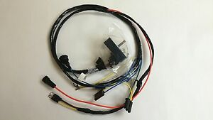 nova wiring harness 1968 camaro nova engine starter wiring harness 307 327 350 warning lights
