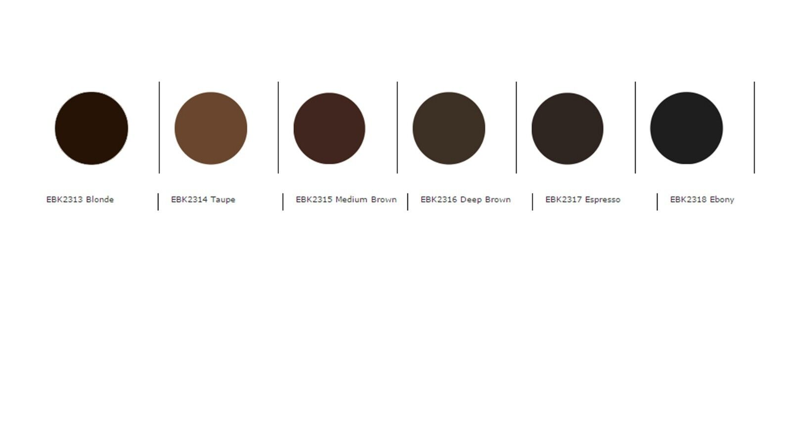 Kleancolor Brow Pomade Smudge Proof Waterproof Gel In 6 Condition